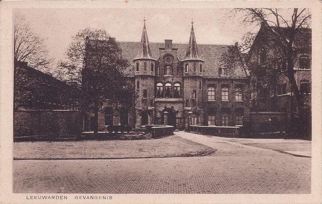Ansichtkaart Gevangenis Leeuwarden A0023-a