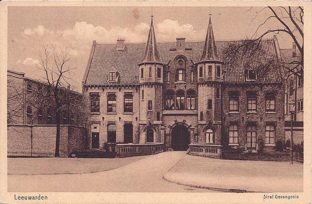 Ansichtkaart Gevangenis Leeuwarden A0034-a