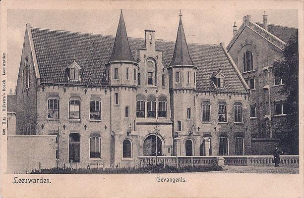 Ansichtkaart Gevangenis Leeuwarden A0006-a