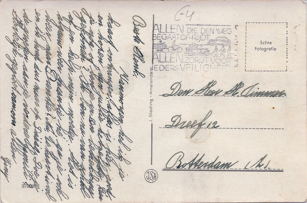 Ansichtkaart Gevangenis Leeuwarden A0113-b