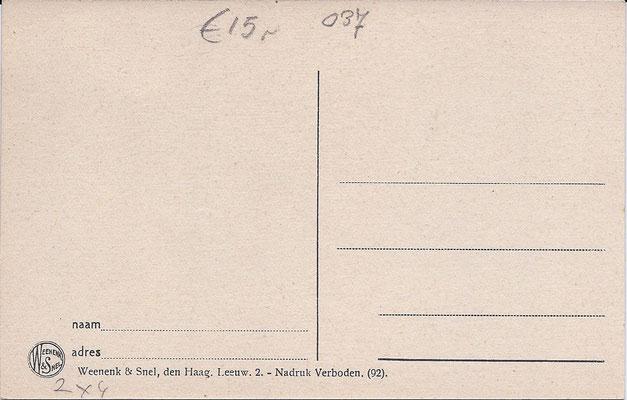 Ansichtkaart Gevangenis Leeuwarden DA0049-b