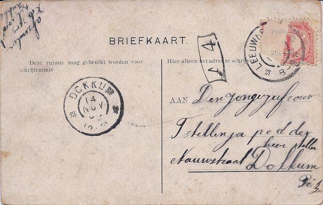 Ansichtkaart Gevangenis Leeuwarden A0030-b