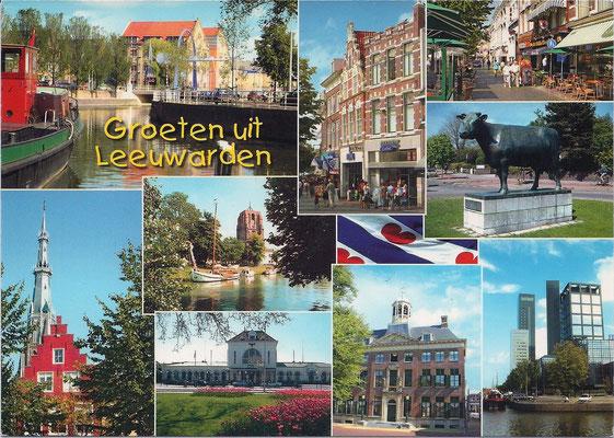 Ansichtkaart Gevangenis Leeuwarden A0095-a