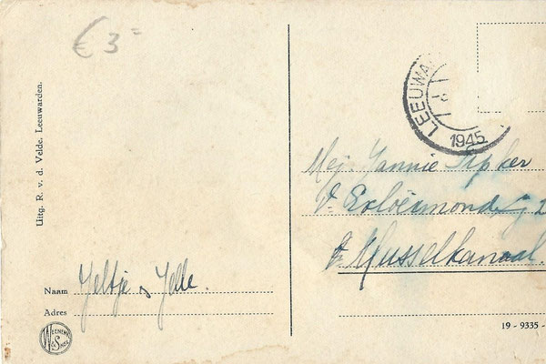 Ansichtkaart Gevangenis Leeuwarden A0154-b