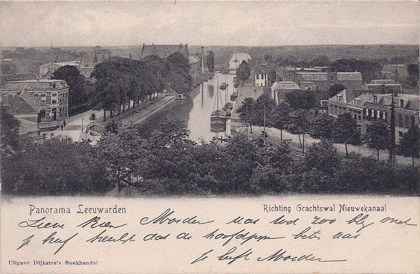 Ansichtkaart Gevangenis Leeuwarden A0124-a