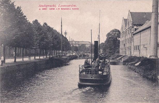 Ansichtkaart Gevangenis Leeuwarden A0118-a