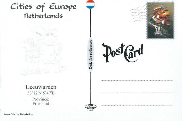 Ansichtkaart Gevangenis Leeuwarden A0143-b