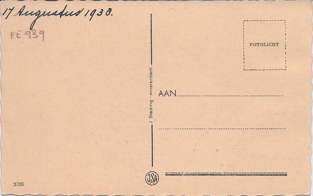 Ansichtkaart Gevangenis Leeuwarden A0016-b