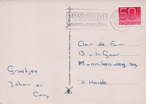 Ansichtkaart Gevangenis Leeuwarden A0078-b