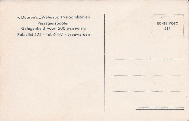 Ansichtkaart Gevangenis Leeuwarden A0106-b