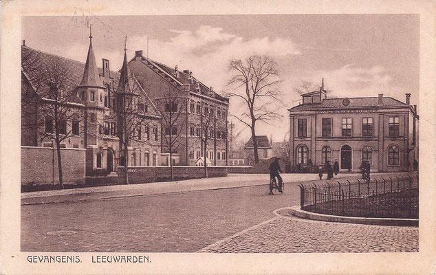 Ansichtkaart Gevangenis Leeuwarden A0005-a
