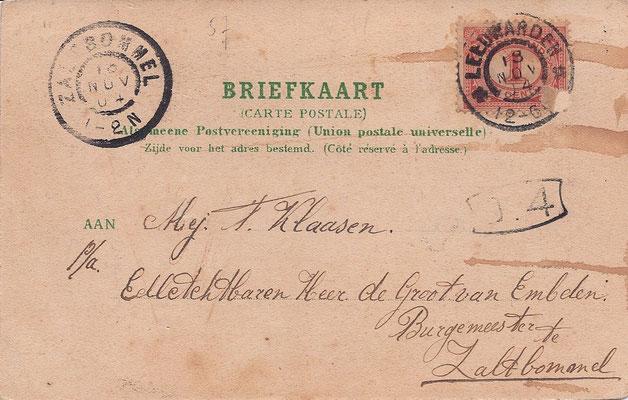 Ansichtkaart Gevangenis Leeuwarden A0028-b