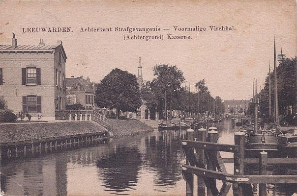 Ansichtkaart Gevangenis Leeuwarden A0061-a