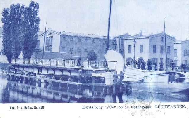 Ansichtkaart Gevangenis Leeuwarden A0127-a