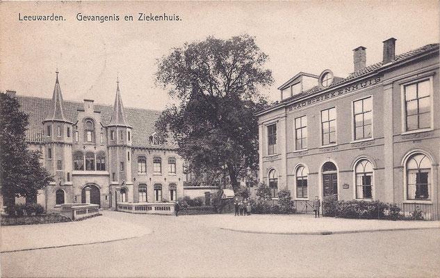 Ansichtkaart Gevangenis Leeuwarden A0049-a