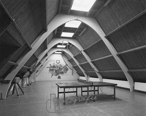 Huis van Bewaring sportzaall 1983