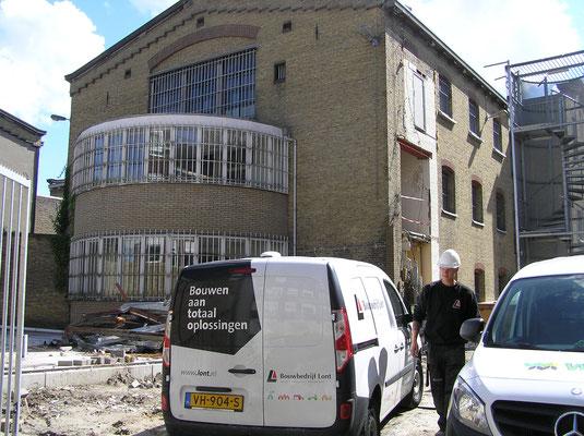 Sloop en verbouw Blokhuispoort augustus 2015
