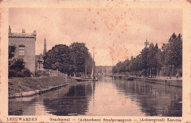 Ansichtkaart Gevangenis Leeuwarden A0043-a