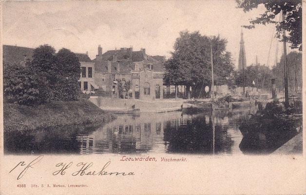 Ansichtkaart Gevangenis Leeuwarden A0062-a