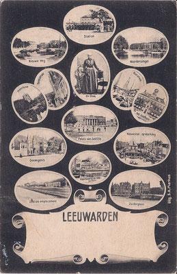 Ansichtkaart Gevangenis Leeuwarden A0083-a