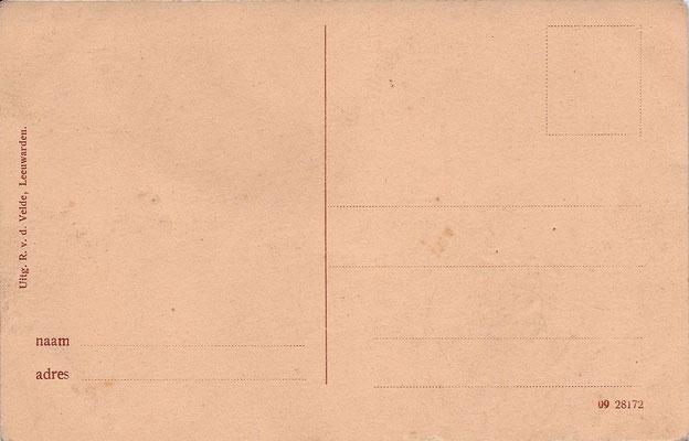Ansichtkaart Gevangenis Leeuwarden A0013-b