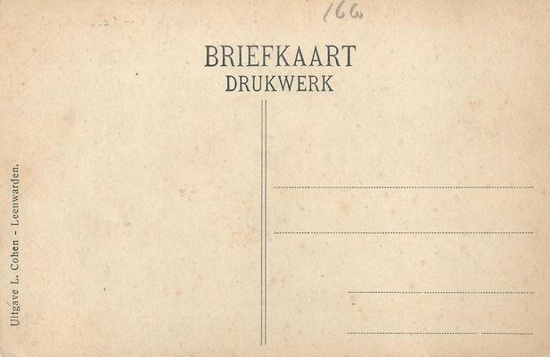 Ansichtkaart Gevangenis Leeuwarden A0057-b