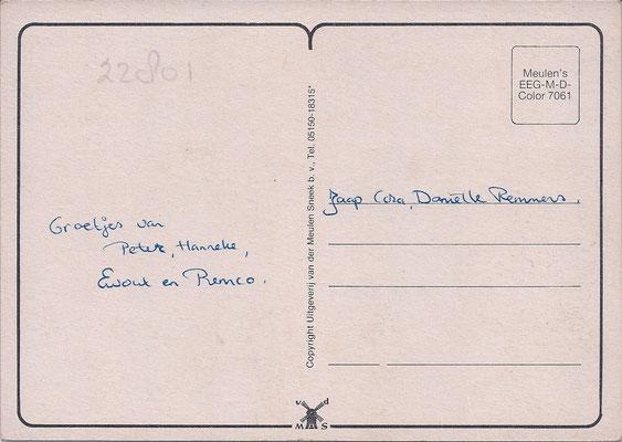 Ansichtkaart Gevangenis Leeuwarden DA0075-b