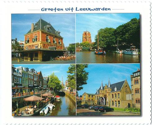 Ansichtkaart Gevangenis Leeuwarden A0147-a