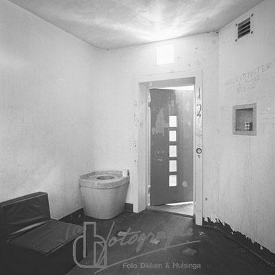 Huis van Bewaring strafcel alcoof (bunker) 1983