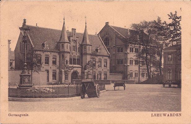 Ansichtkaart Gevangenis Leeuwarden A0044-a