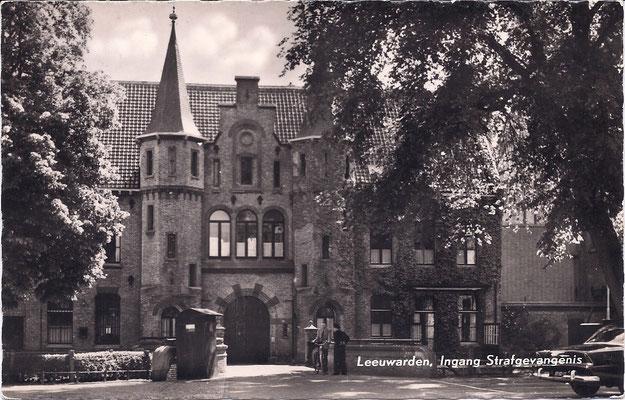 Ansichtkaart Gevangenis Leeuwarden A0032-a