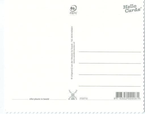 Ansichtkaart Gevangenis Leeuwarden A0147-b
