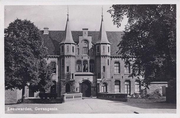 Ansichtkaart Gevangenis Leeuwarden A0054-a