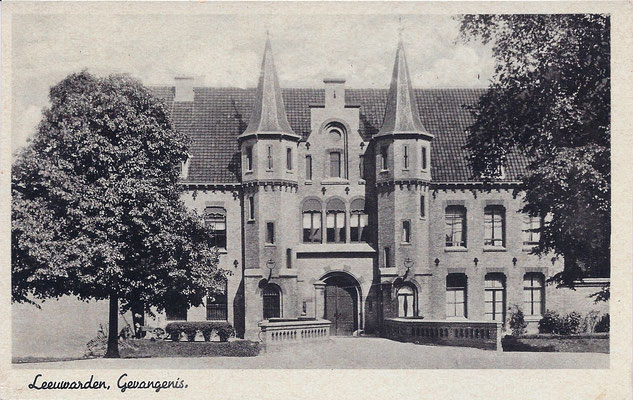 Ansichtkaart Gevangenis Leeuwarden A0018-a
