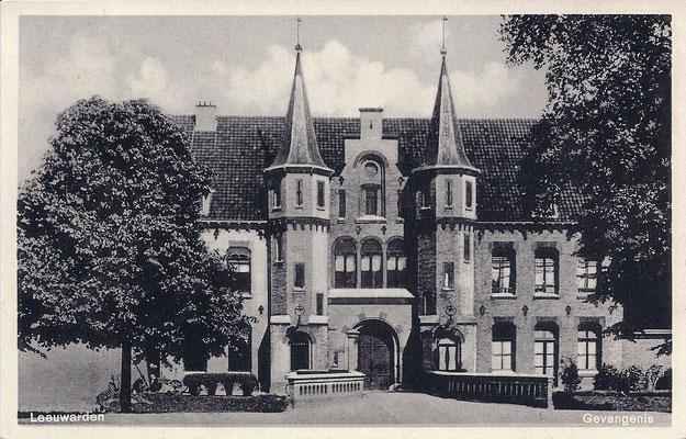 Ansichtkaart Gevangenis Leeuwarden A0015-a