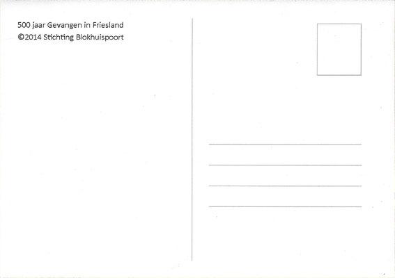 Ansichtkaart Gevangenis Leeuwarden A0126-b