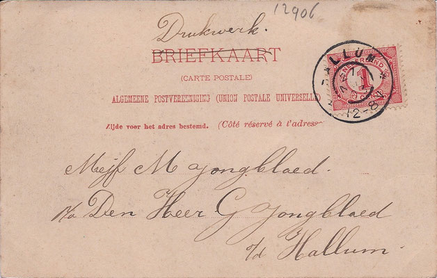 Ansichtkaart Gevangenis Leeuwarden A0062-b