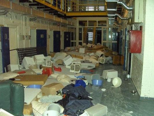 Ontruiming Blokhuispoort 2008