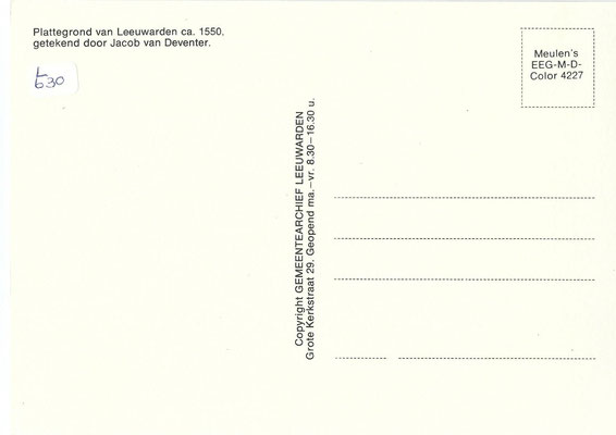 Ansichtkaart Gevangenis Leeuwarden A0149-b