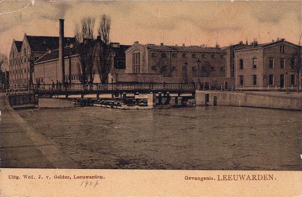 Ansichtkaart Gevangenis Leeuwarden A0112-a