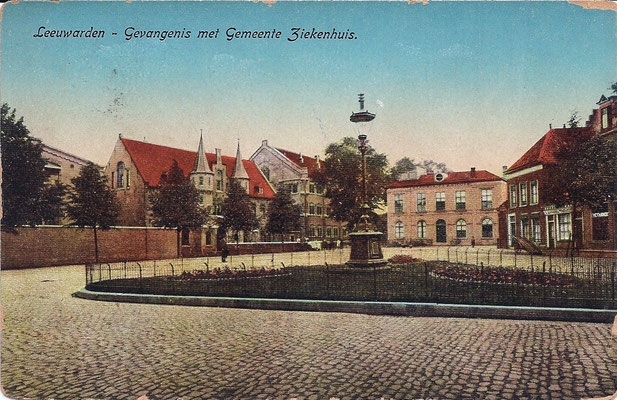 Ansichtkaart Gevangenis Leeuwarden A0027-a