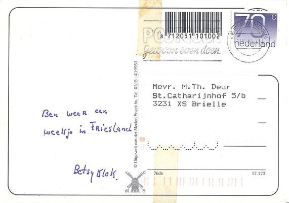 Ansichtkaart Gevangenis Leeuwarden A0135-b