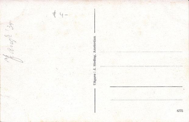 Ansichtkaart Gevangenis Leeuwarden A0017-b