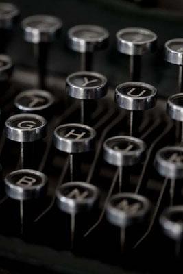 Une vieille machine à écrire - Pinterest La Déco d'Hélo