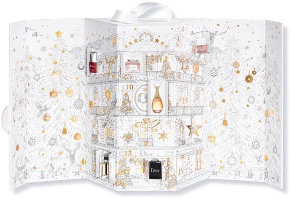 Le luxueux Calendrier de l'Avent 2018 par Dior ~ Aperçu de l'intérieur