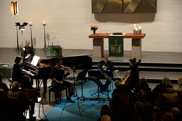 """""""Messiaen"""" am 15.11.2015 (Konzert und Lesung)"""
