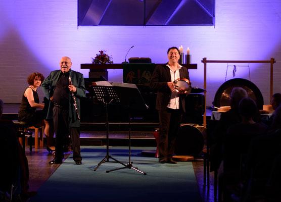 Giora Feidman Trio am 19.06.2016 (Baranova, Feidman, Co şkun)