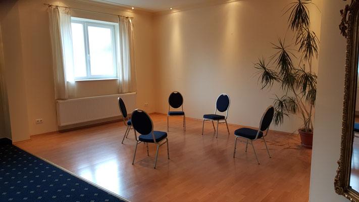 Personal- und Hygieneraum, sowie Behandlungsraum 3
