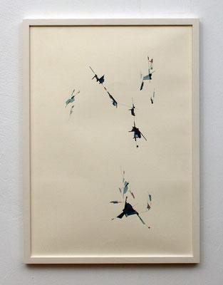 o.T. /// 2018 /// 59,4 cm x 42 cm /// Tusche/Kugelschreiber/Aquarell auf Papier