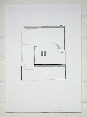 A/A 220414_1 /// 2014 /// 42cm x 29,7cm /// Tusche/Papier